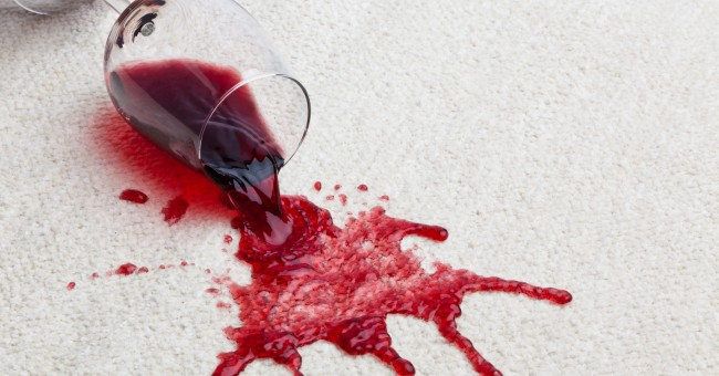 Eliminar las manchas de xido sangre o vino el blog de - Manchas de vino ...