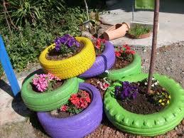 C mo hacer una jardinera original el blog de los mejores consejos y trucos - Jardineras con ruedas ...