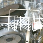 inside of dishwasher