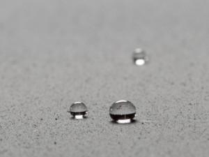 Superficie hidrofobica
